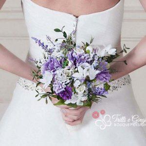 bouquet lilla viola boho real life