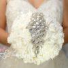 bouquet gioiello bianco