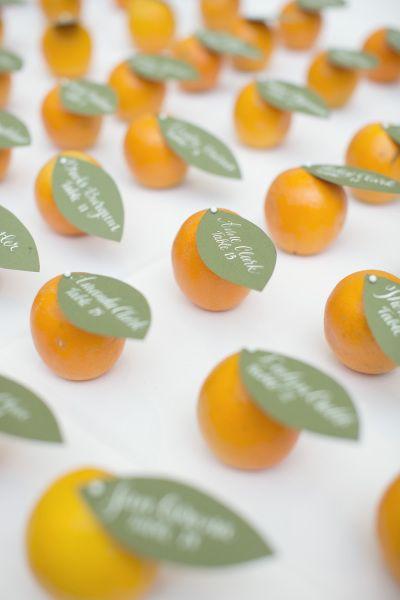 tableau matrimonio a tema frutta con arance