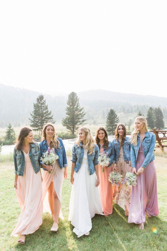 matrimonio jeans sposa