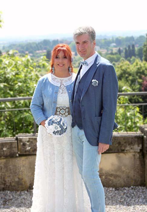 sposi in jeans