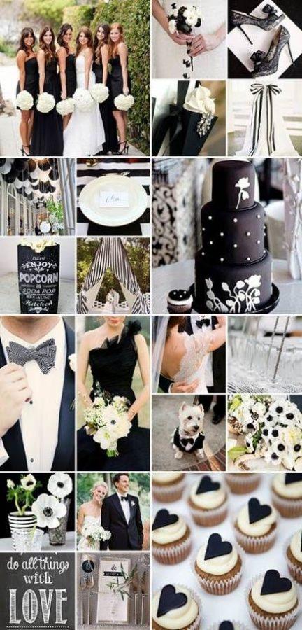 idee matrimonio bianco e nero