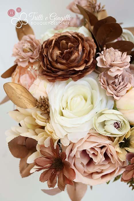 bouquet matrimonio autunno