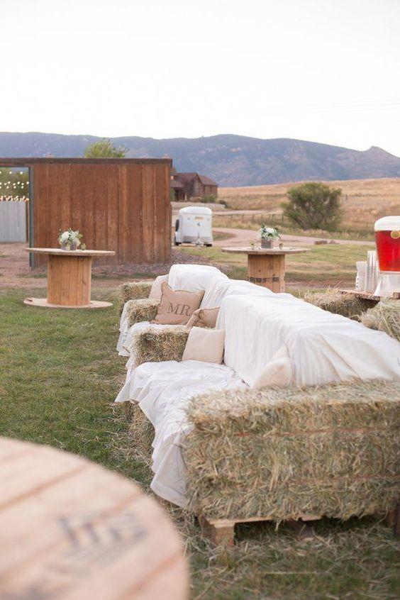matrimonio country allestimento