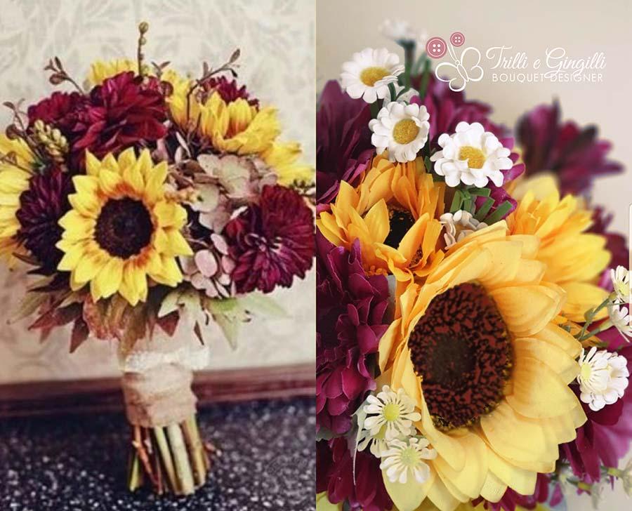 riproduzione bouquet anniversario matrimonio