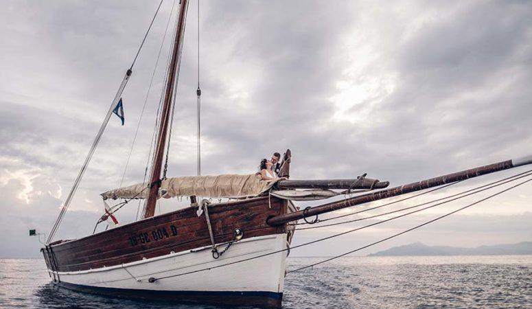 Il matrimonio a tema nautico di Marta e Andrea (ai tempi del Covid)