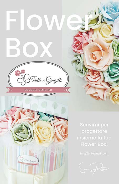 flower box fiori per compleanno ragazza