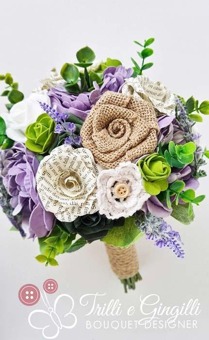 bouquet di peonie e rose country chic
