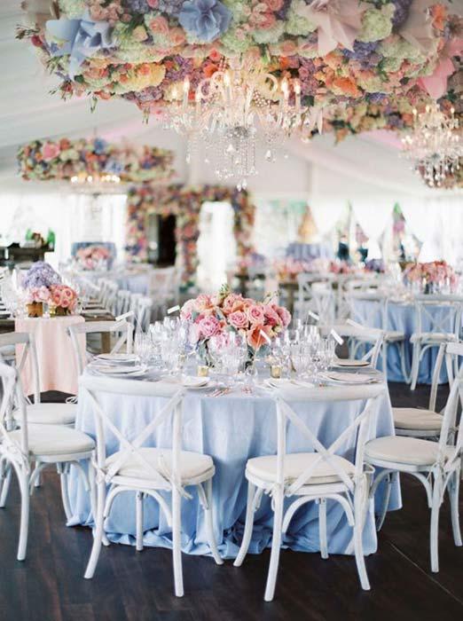 allestimenti matrimonio color pastello