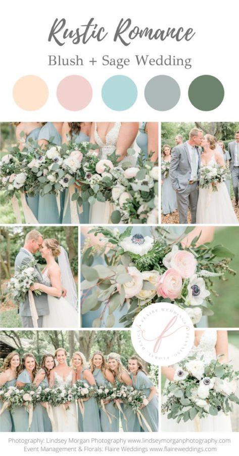 palette pastello matrimonio colori rosa cipria azzurro polvere