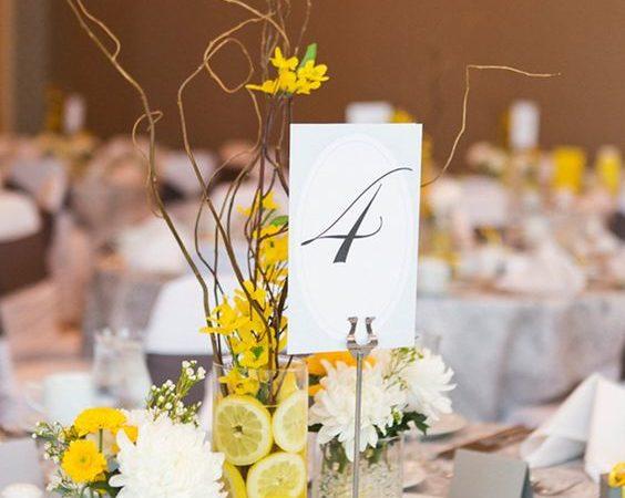 Matrimonio a tema giallo: tante idee per te!